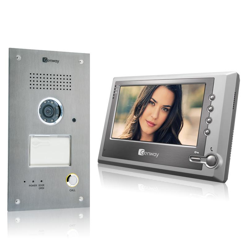 Fine Genway Doorphones Video Phones Intercoms Access System Negotiation Wiring Digital Resources Sulfshebarightsorg