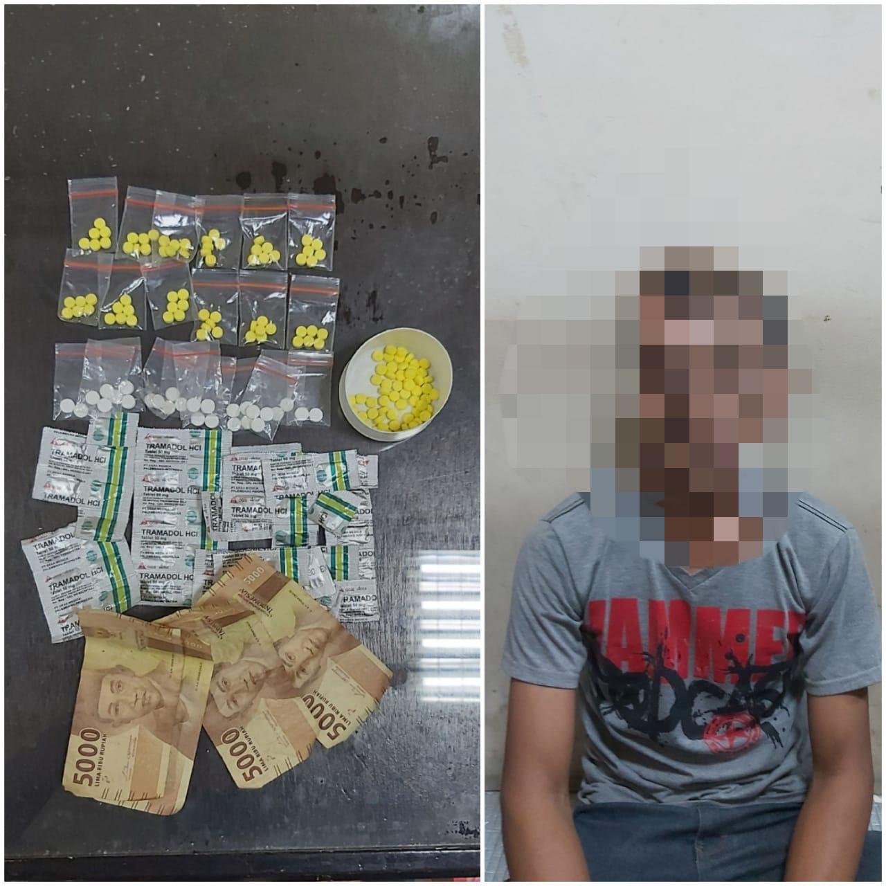 Satresnarkoba Polresta Tangerang Tangkap Pengedar Obat Terlarang Asal Aceh