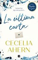 La última carta 2, Cecelia Ahern