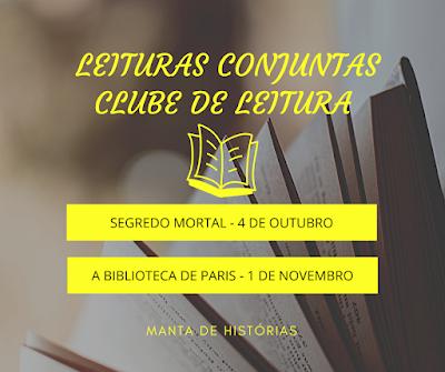 Leituras Conjuntas - Clube de Leitura Manta de Histórias