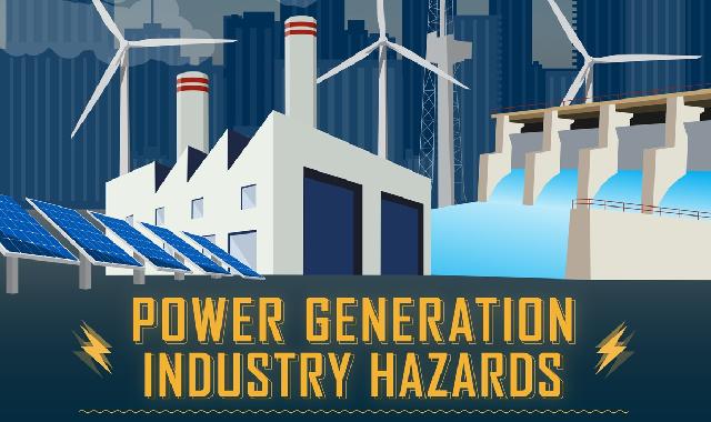 Power Generation Industry Hazards #infographic