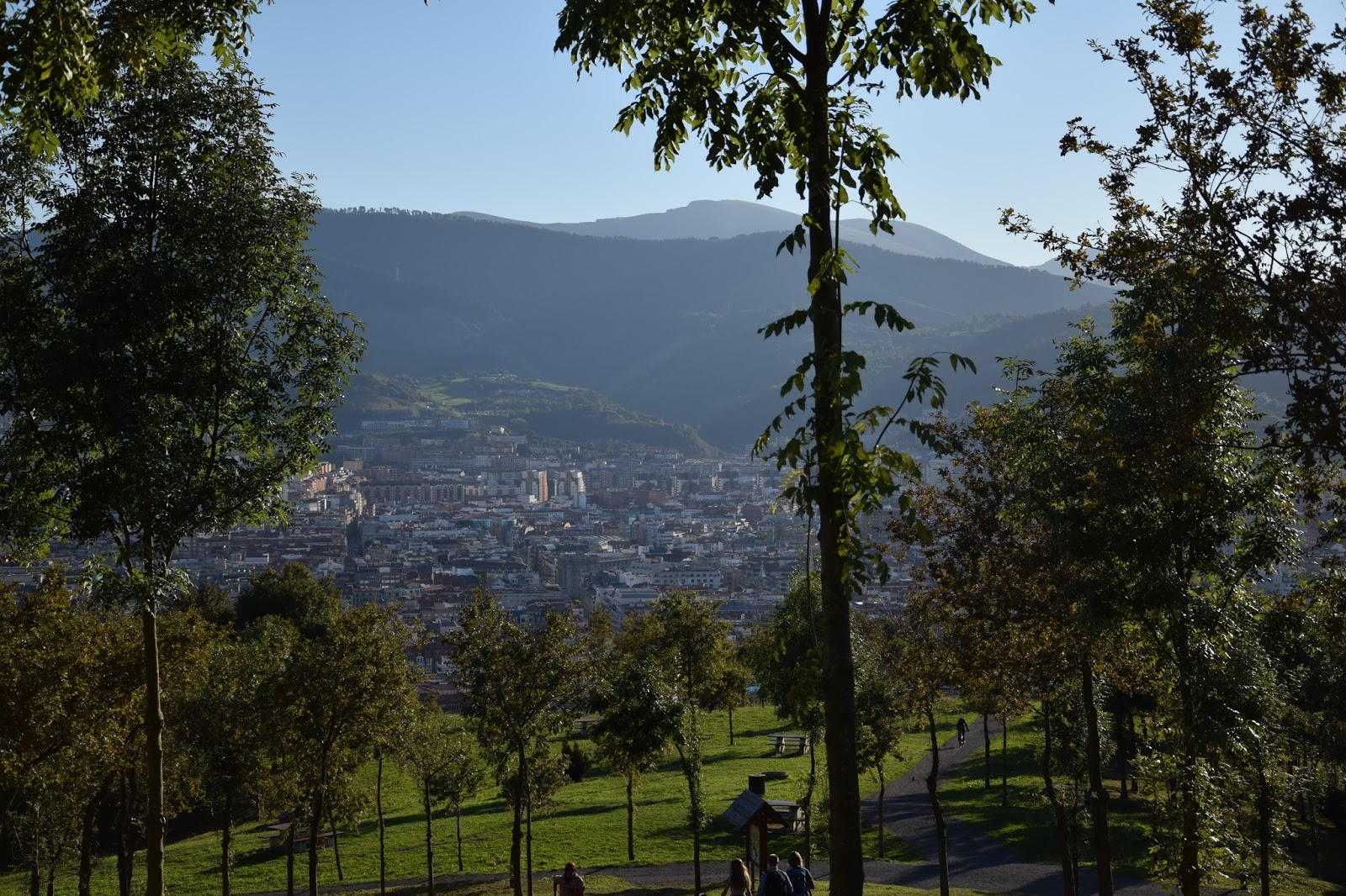 Bilbao trekking z dziećmi