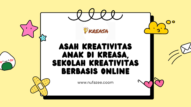 Asah Kreativitas Anak di Kreasa, Sekolah Kreativitas Berbasis Online