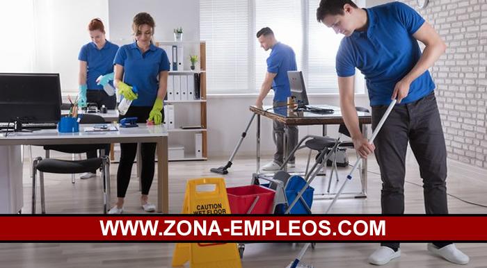 SE BUSCAN OPERARIOS/AS DE LIMPIEZA PARA EMPRESA