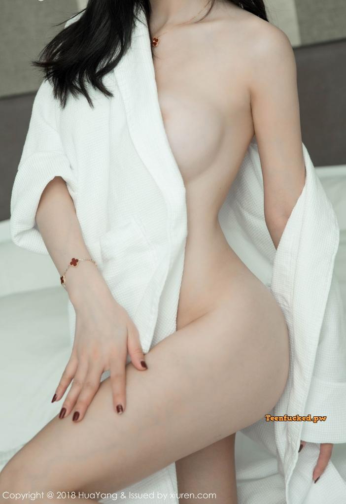 HuaYang 2018 10 12 Vol.089 Zhou Yuxi MrCong.com 029 wm - HuaYang Vol.089: Người mẫu Zhou Yuxi (周于希) (43 ảnh)