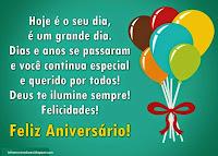 Mensagens de Aniversário Parabéns Amor Feliz Aniversário
