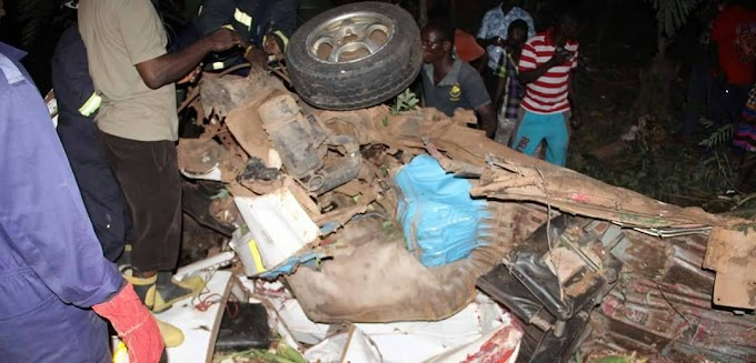 One dead, 4 injured in Odumase road accident in Eastern Region