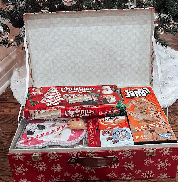 A kids Christmas Eve box.