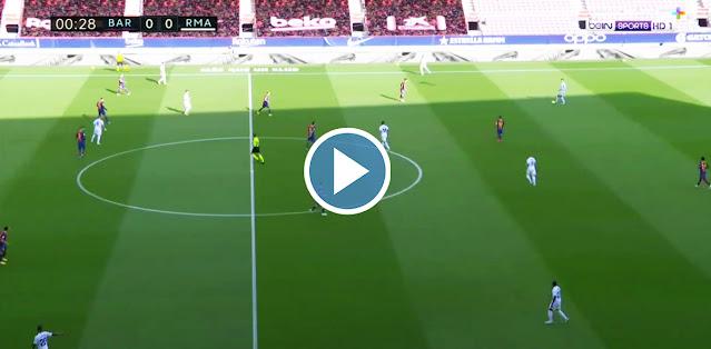 Barcelona vs Real Madrid Live Score