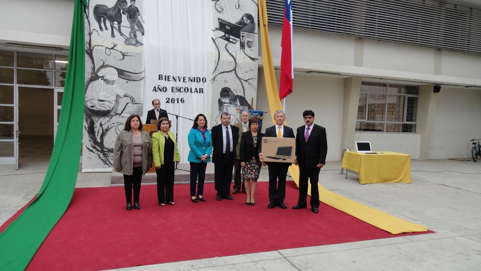 Liceo Federico Heise inauguró año escolar