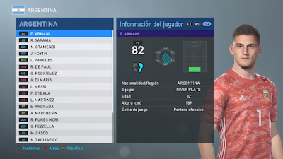 PES 2019 PS4 Option File Copa America 2019 by Nicoultras ~ PES-ID
