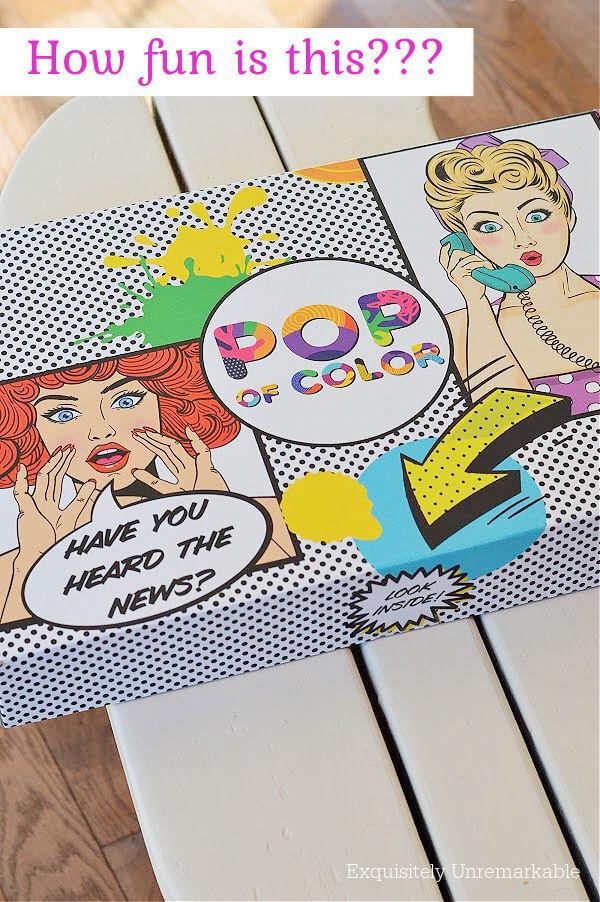 Pop Of Color Paint box