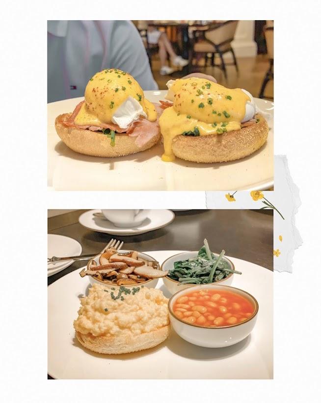raffles hotel tiffin room breakfast
