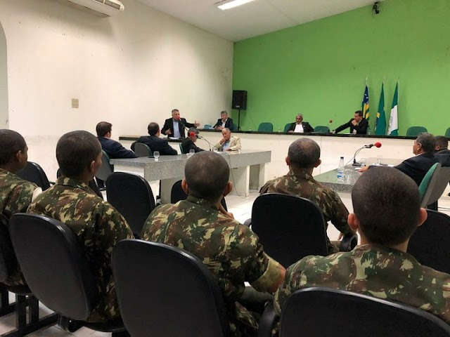 Câmara aprova bolsa de estudos e instrução militar para jovens de Campo Maior
