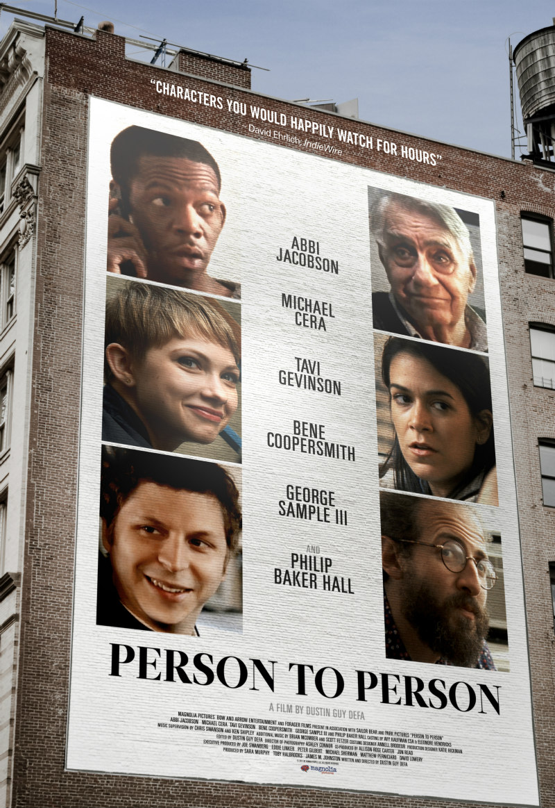 person to person poster