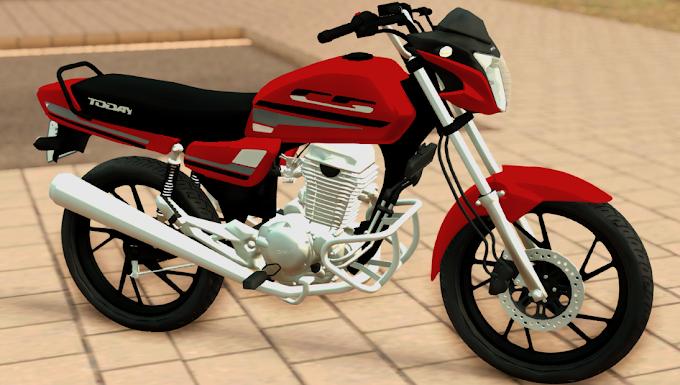 HONDA TODAY 250cc MONTADA PC FRACO & ANDROID