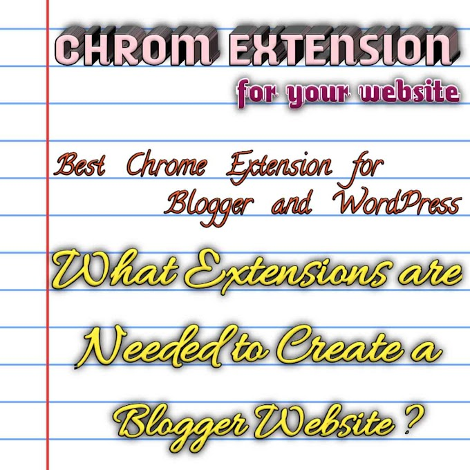 Best Chrome Extension for Blogger