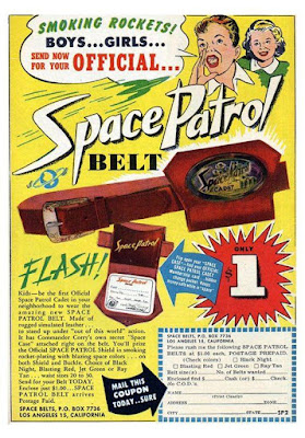 Space Patrol Belt