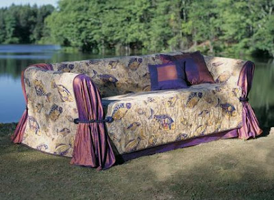 Come rinnovare il vecchio divano spendendo pochissimo - Ricoprire un divano ...