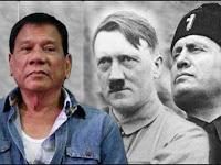 Duterte Ingin Bantai Jutaan Orang seperti Adolf Hitler