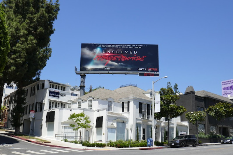 Unsolved Mysteries Netflix billboard