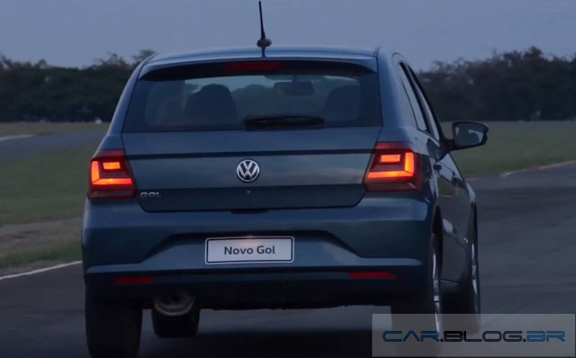 novo VW Gol 2017