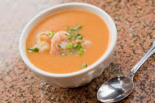 An example of Shirmp bisque soup