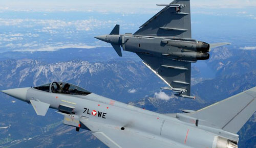 Gaduh Politik Austria Gegara Prabowo Mau Borong Eurofighter