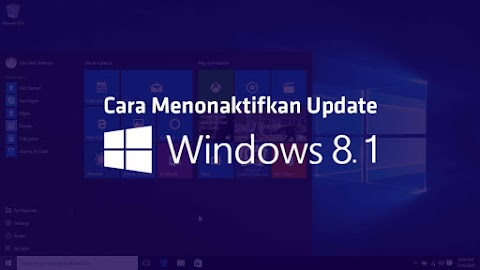 Cara Mematikan Update Windows 8 di PC Dengan Mudah