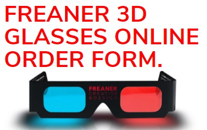 3D glasses Freaner