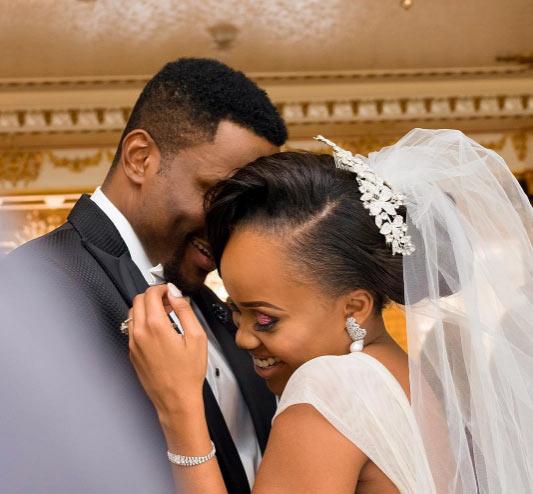 Ebuka Obi-Uchendu showers affections on wife as couple marks 1st wedding anniversary