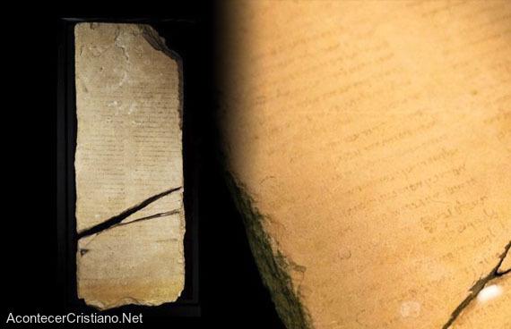 La piedra del ángel Gabriel se expone en Israel
