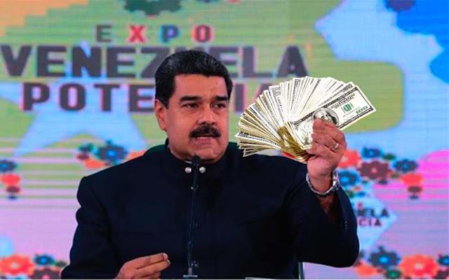 Dólar DICOM aumento 20 % en un solo día tras anuncio de Nicolás Maduro