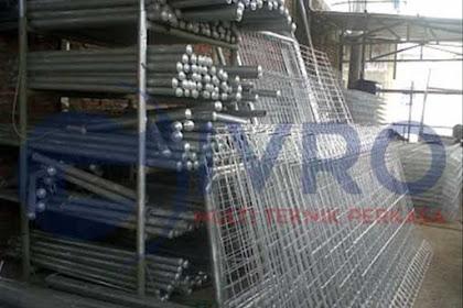 Pabrikasi Pagar BRC Termurah Dan Terlengkap