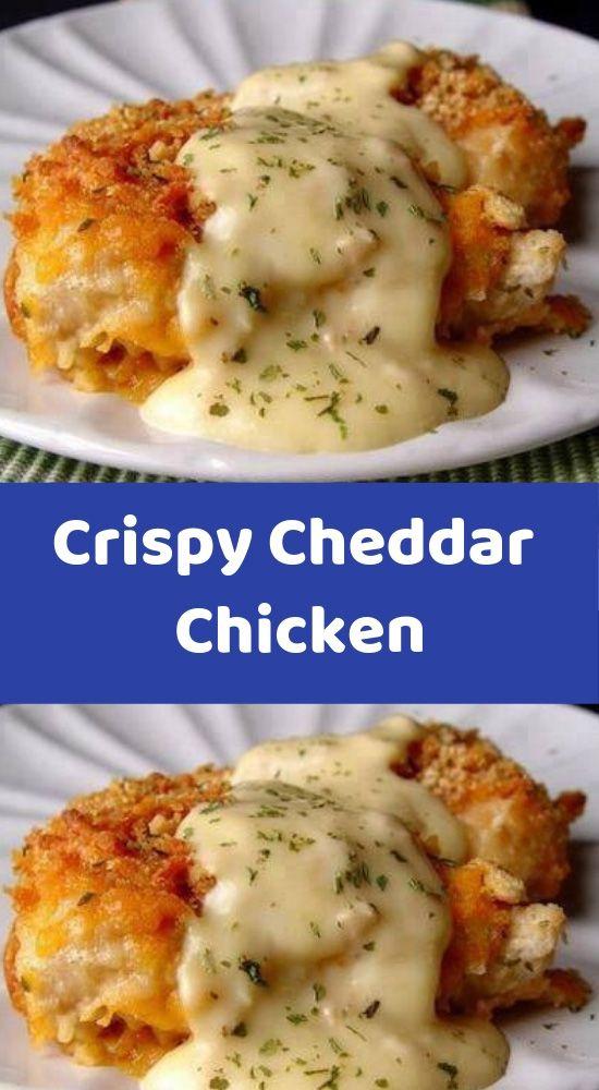 Crispy Cheddar Chicken #Crispy #Cheddar #Chicken #Easyrecipe #Deleciousrecipe #Dinnerrecipe