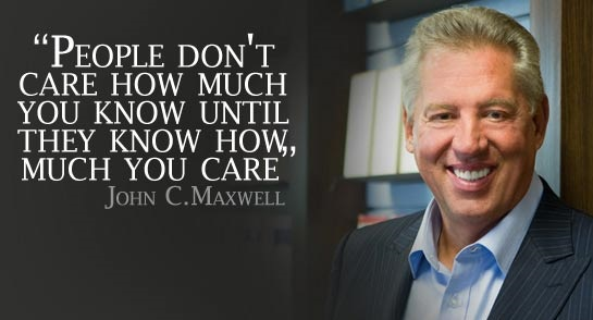 John C. Maxwell Motivational Business Quotes Leadership Inspiration Quote CEO Succes