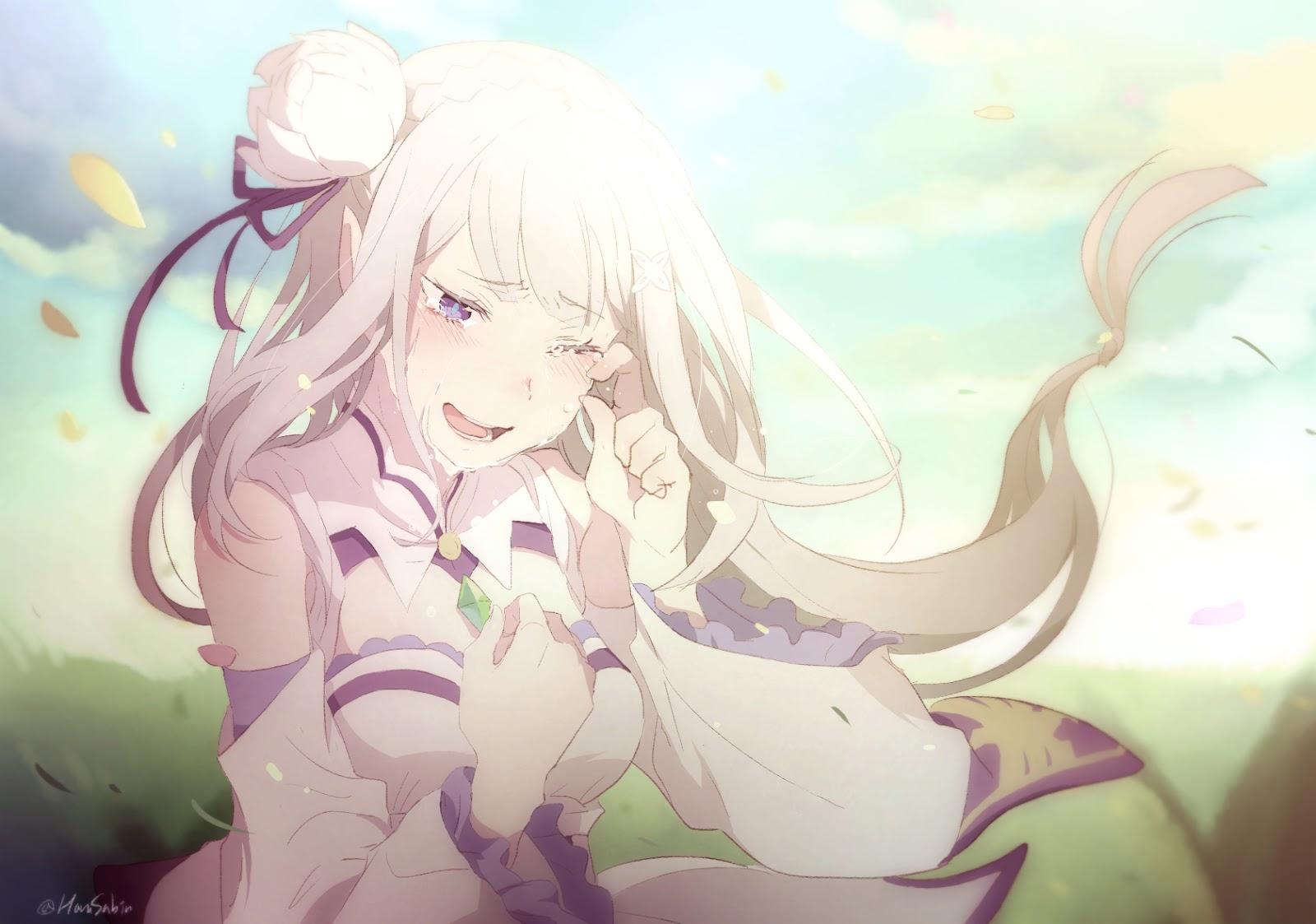 Re:Zero Kara Hajimeru Isekai Seikatsu Emilia and Rem 2