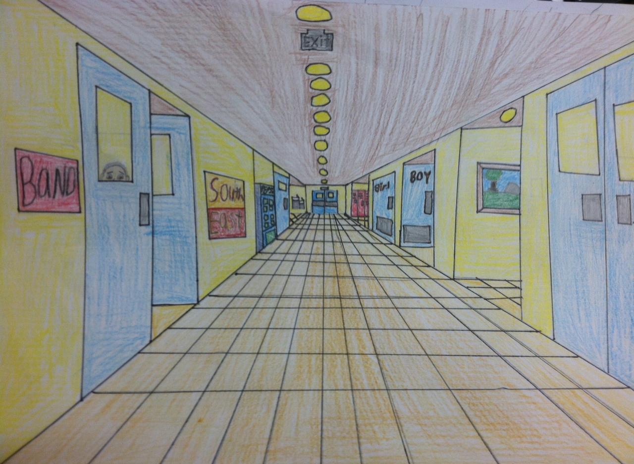 school hallway clip art - photo #8