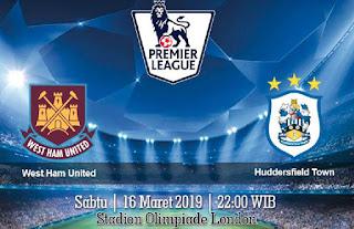 Prediksi West Ham United vs Huddersfield Town 16 Maret 2019