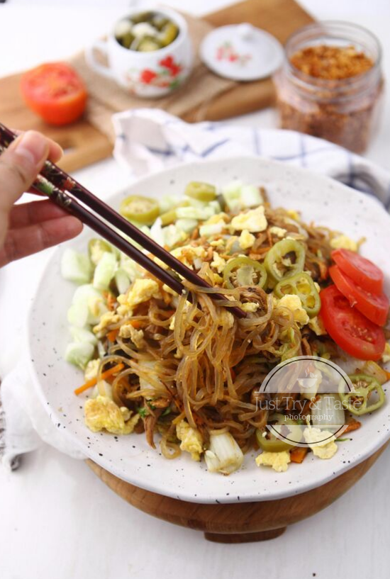 Resep Mie Goreng Shirataki Just Try Taste