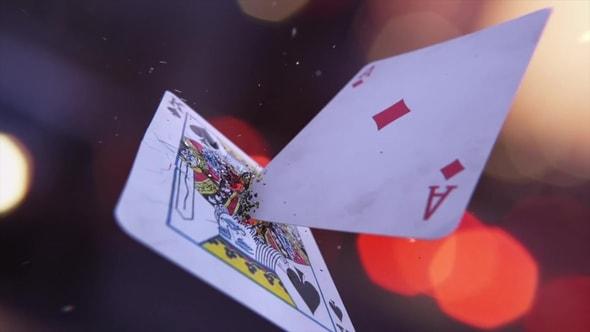 لقطات للمونتاج - أوراق اللعب ثري دي