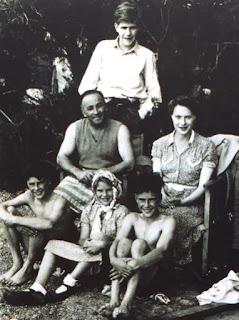 The Boty Family - Arthur, Albert, Veronica, John, Pauline, Albert