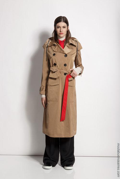 Tapados de moda mujer invierno 2018.