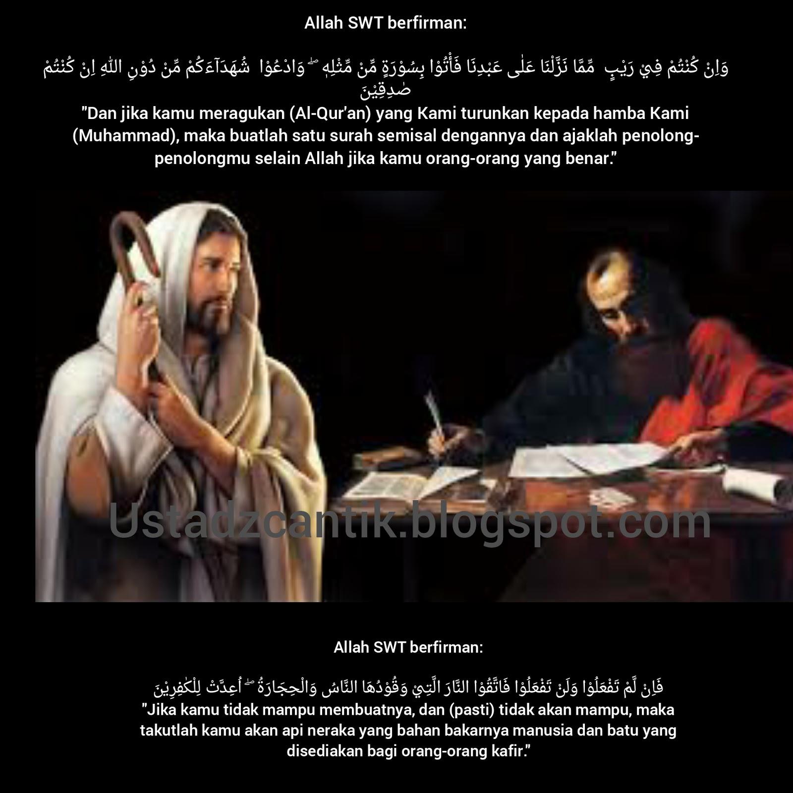 Ustadz Cantik Berbagi Ilmu Islam