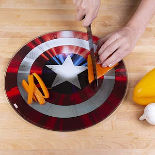 Click here to purchase Captain America Shield Cutting Board at Amazon!