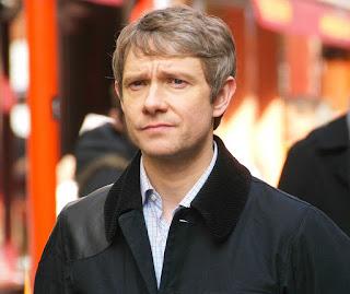 Martin Freeman as Dr John Watson in BBC 'Sherlock'