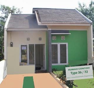 rumah minimalis sederhana 1 lantai tipe 36 - desain rumah
