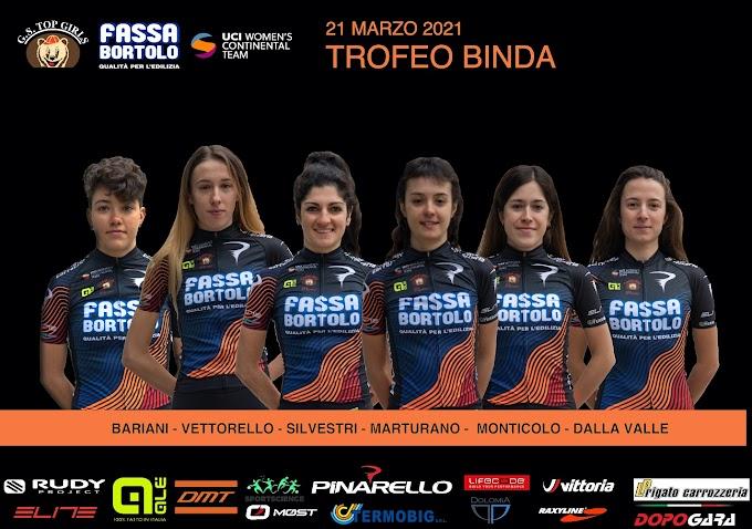 El Top Girls Fassa Bortolo participará en el Trofeo Alfredo Binda y en OxyClean Brugge - De Panne
