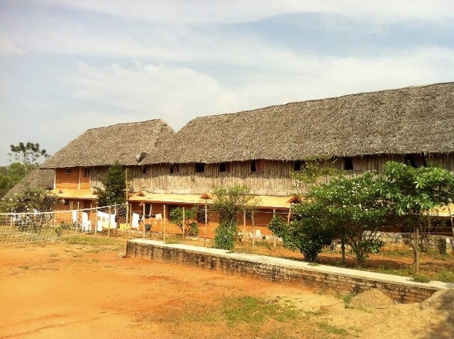 Ashram dorm buildings