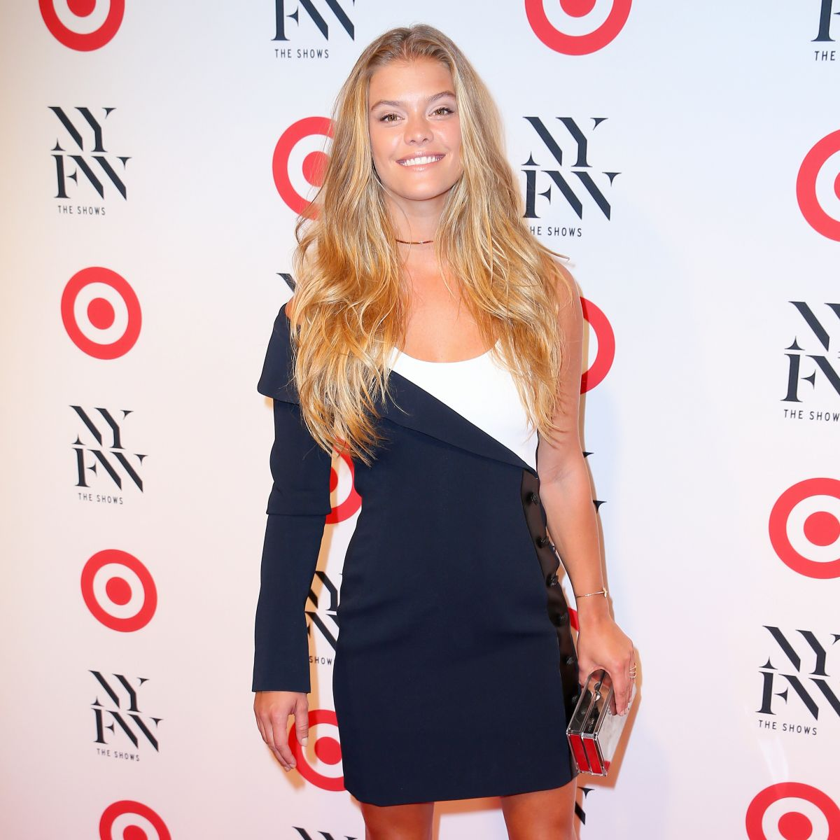Nina Agdal At Target and IMG Kickoff Party In New York